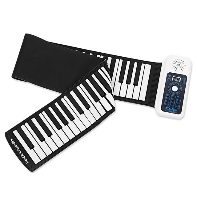 88 Keys Roll Up realistic sound Foldable Piano