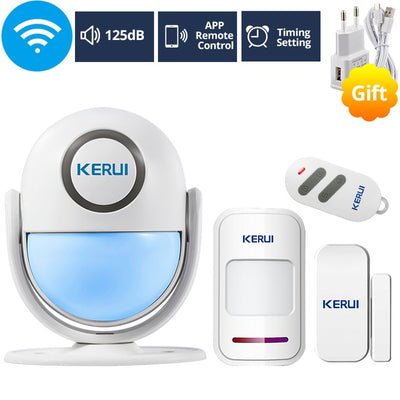 KERUI WIFI Home Security Alarm System