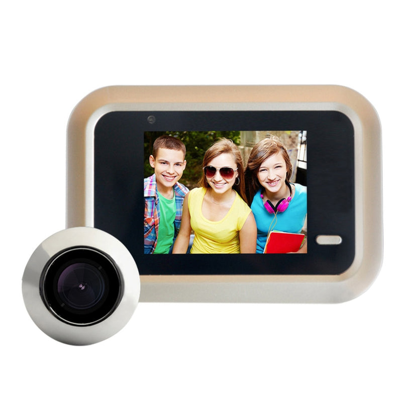 2.4 inch LCD Color Screen WiFi Video Wireless Doorbell