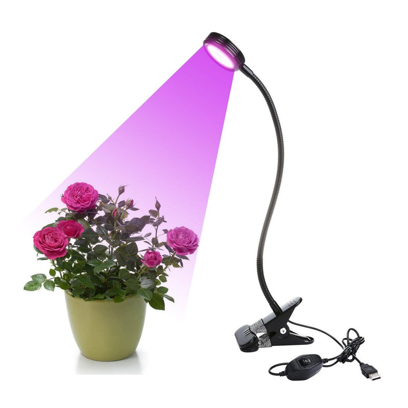 Clip Eulan LED Plant Grow Light 2 Level Dimmable