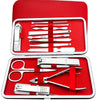 13 pieces stainless steel nail clipper set