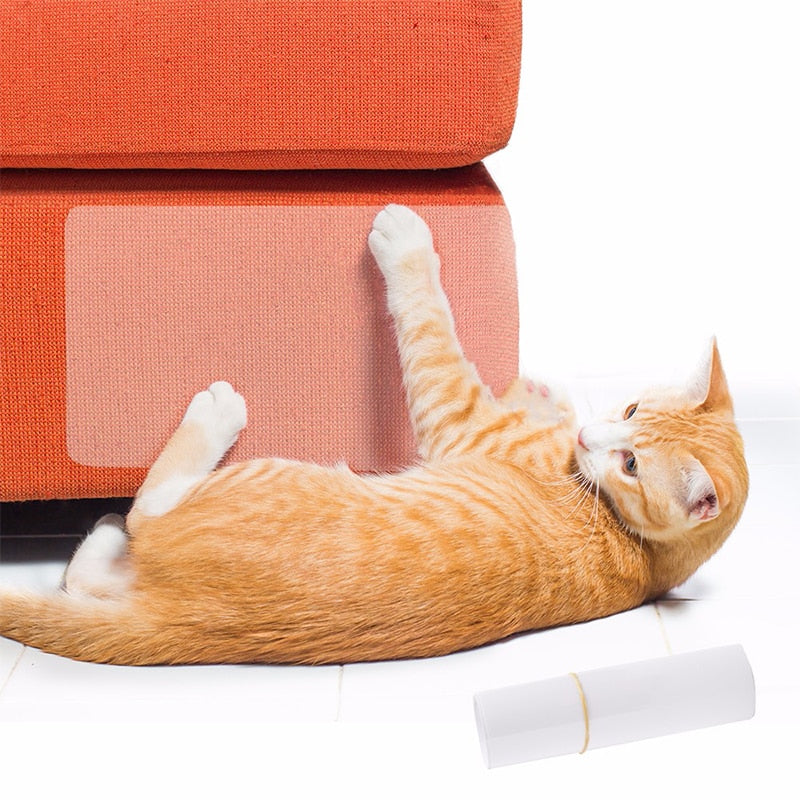 2Pc/set Pet Cat Scratch Couch  Guard Mat For Upholstery Leather