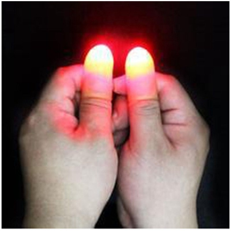 2Pcs Thumbs Party Magic Light