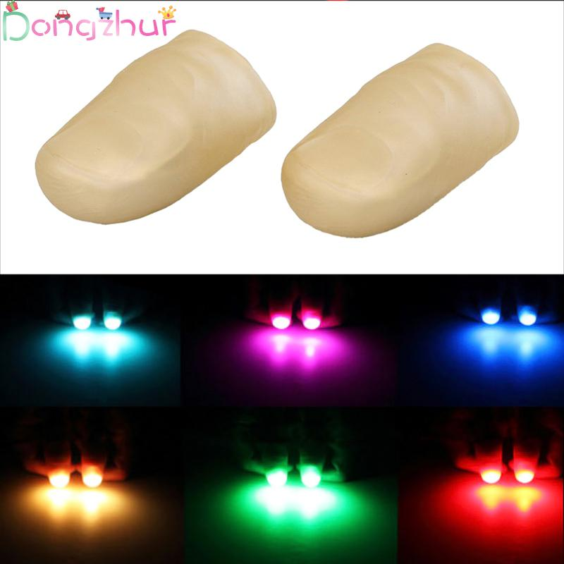 Fingers LED Flashing Magic Light