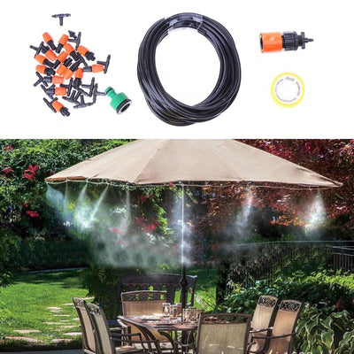 10m Adjustable 15 Sprinkler Automatic Irrigation Watering