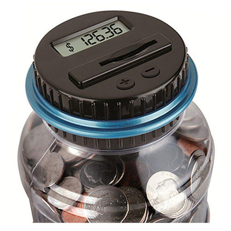 Saving Coins with Electronic Digital LCD Box for kids