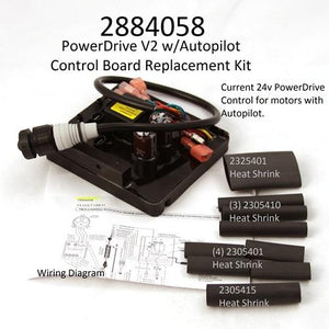 2884058 Minn Kota 24 Volt Power Drive V2/AP & RT/SP/AP Control Board