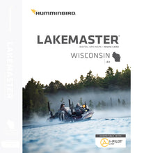 600025-7 Humminbird Lakemaster V8 Wisconsin