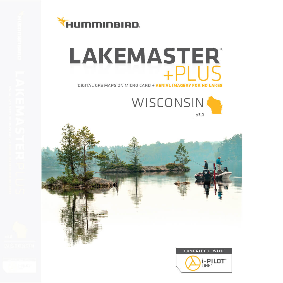 600025-8 Humminbird Lakemaster PLUS V3 Wisconsin