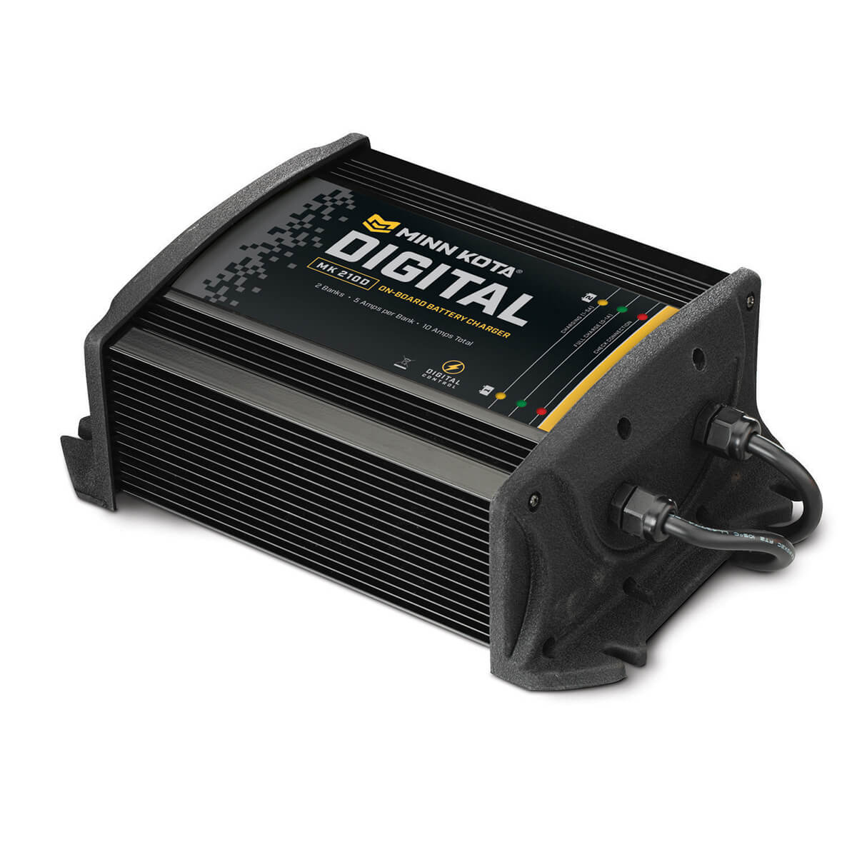 MK 210D 2 Bank x 5 Amps Digital Charger 1822105