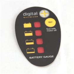 2316605 Minn Kota PowerDrive V2 Battery Meter Decal