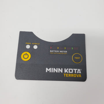 2325657 Minn Kota Terrova BT Battery Meter & Power Status Decal