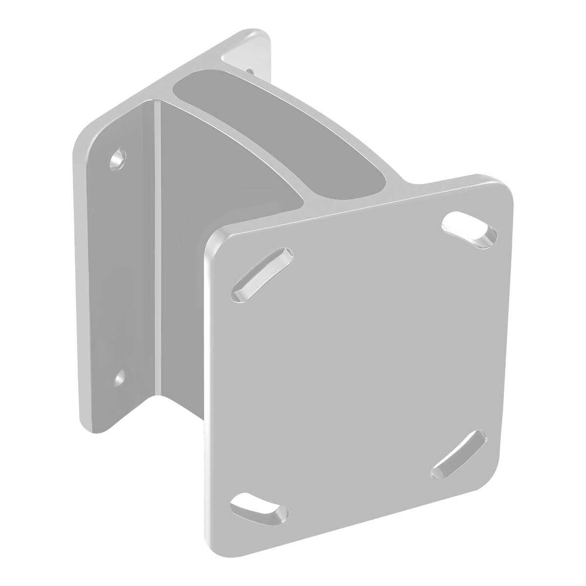 Raptor Direct Mount Angle Bracket, White 1810376