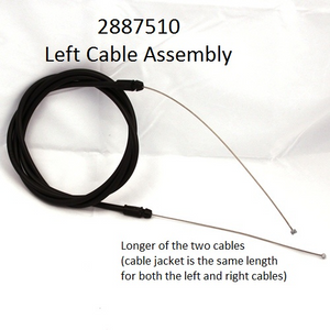 2887500 & 2887510 Minn Kota Replacement Steering Cables Left/Right Sides