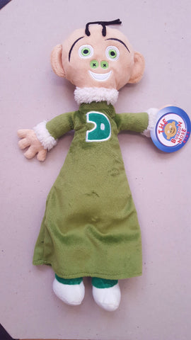 Button Nose Kidz Plush Character Doll - Double Button