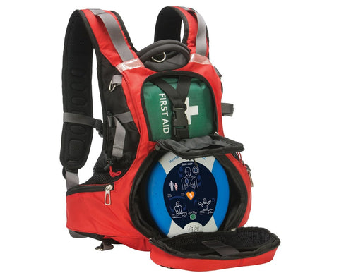 AED Package for Camps and Scouting - Heartsine Samaritan 350P with Responder Backpack