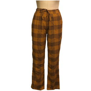 Flyshacker Cabin Jams-Women's - Maple/Black