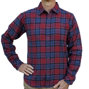 Cumberland Flannel - Warm Red Ikat