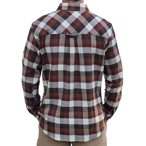 Granby Flannel - Ivory/Cognac