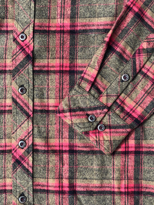 The Grindle Plaid – Olive/Red