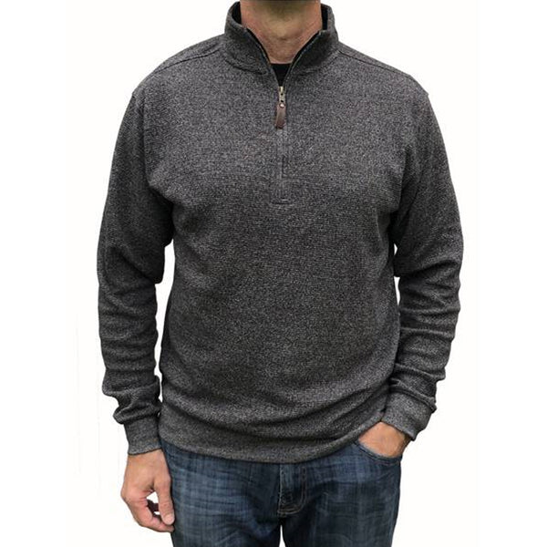 Mortimer Pullover Sweater - Charcoal