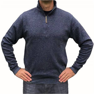 Mortimer Pullover Sweater - Navy