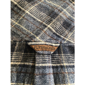 South Fork Grindle - Navy - Beefy 8 oz. Flannel