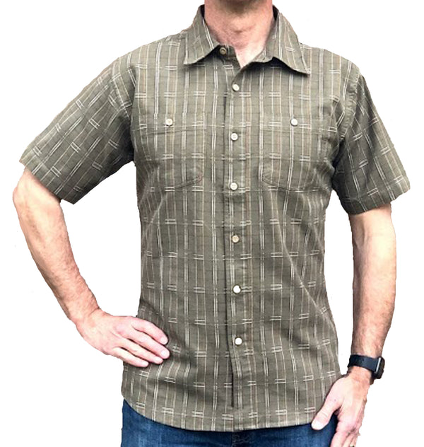 Pathfinder Spaced Dyed Short Sleeve Shirt