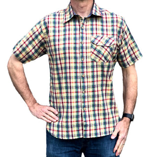 The Pucker Short Sleeve Shirt - MULTI