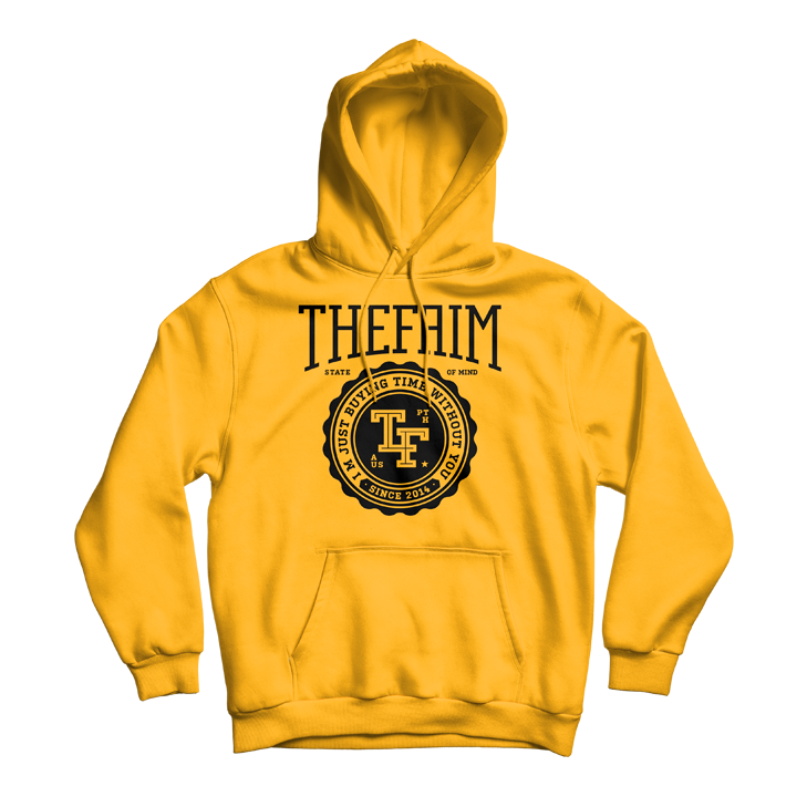 Gold College Hoodie