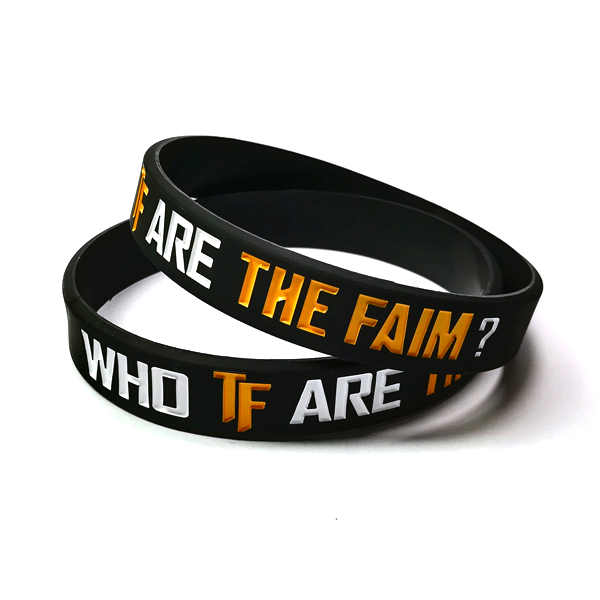 Who TF Silicone Wristband