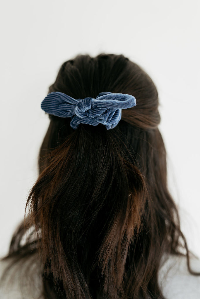 Caroline Pleated Scrunchie