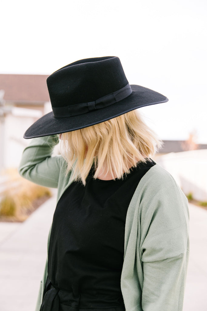 Western Hat in Black