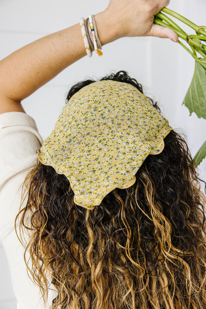 Lettuce Edge Forget Me Not Bandana Headband