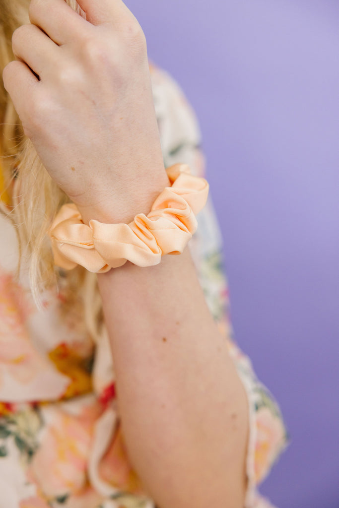 Papaya Scrunchie
