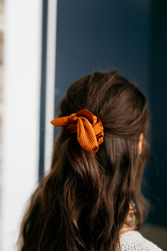 Aspen Pleated Scrunchie