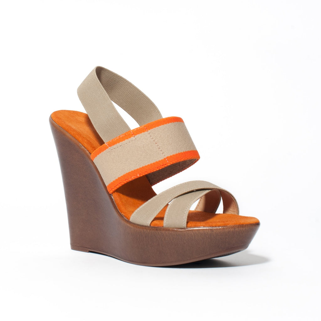 Miramar Wedge Sandal - Sample, Final Sale
