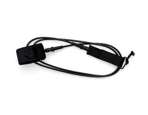 BLACK ON BLACK - 6 Foot Leash