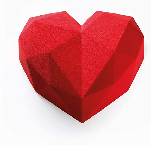 Moule Silicone Origami Heart