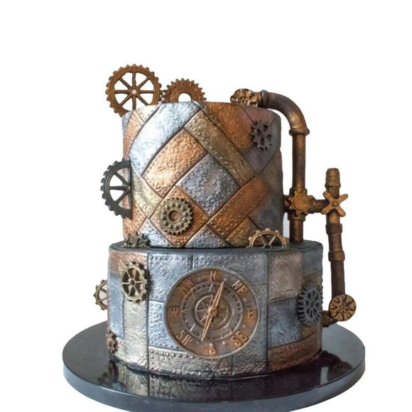 MOULE SILICONE STEAMPUNK CAKE - cook first