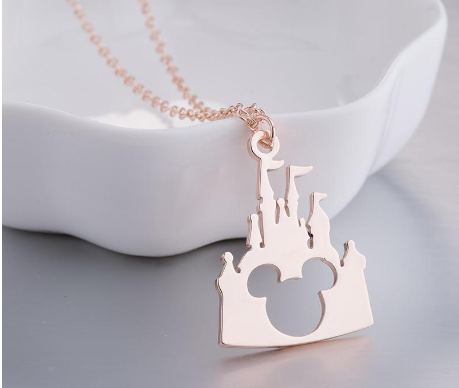 Mickey Lovely Long Castle Pendants