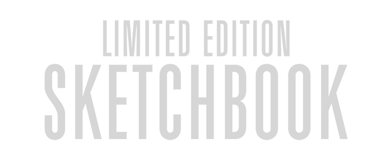 Limited Edition Sketchbook