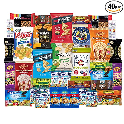 Healthy Snacks Care Package Snack Box for College Students, Finals, Easter, Gift Basket