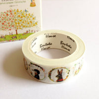 Forest Friends Washi Tape
