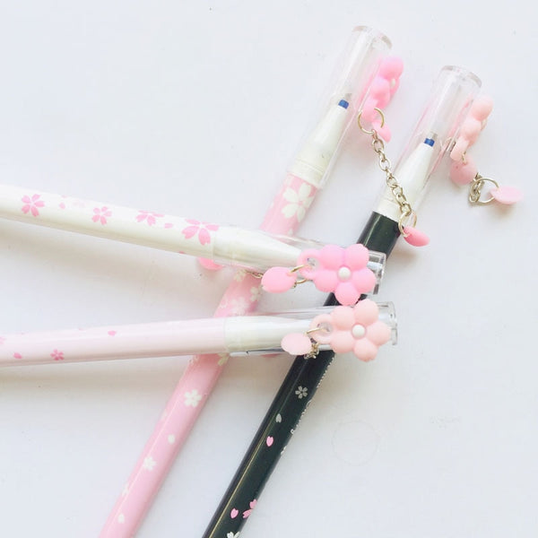 Romantic Pink Sakura Erasable Pen Set