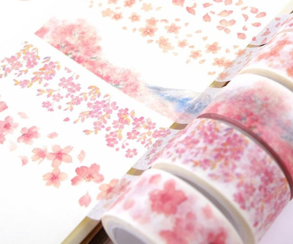 Cheerful Cherry Blossom Washi Tape
