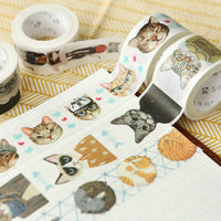 """Cat School"" Washi Tape"