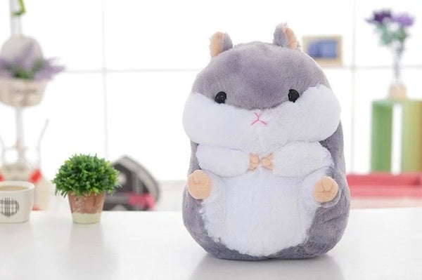 Millffy 1pc 35cm/55cm Kawaii Cuddly Hamster Plush Soft Toy Plushy Doll Stuffed Animal Peluche Hamster for Kids
