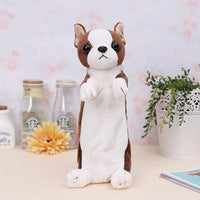 Cute Cartoon Dog Pencil Case Zipper Kawaii Novelty Children Gift Pen Bags for Boys Girls Student School Stationery Supplies