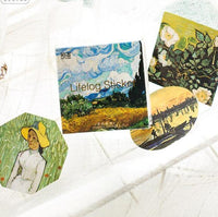 Meet the Artist! Vincent Van Gogh Stickers
